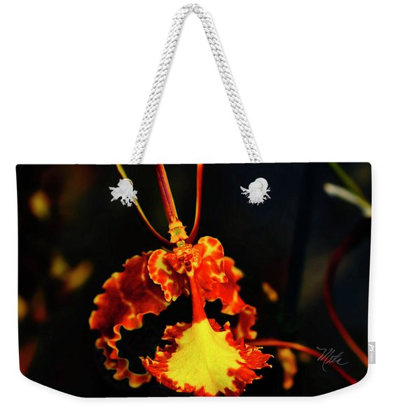 Orchid Study Four Weekender Tote Bag