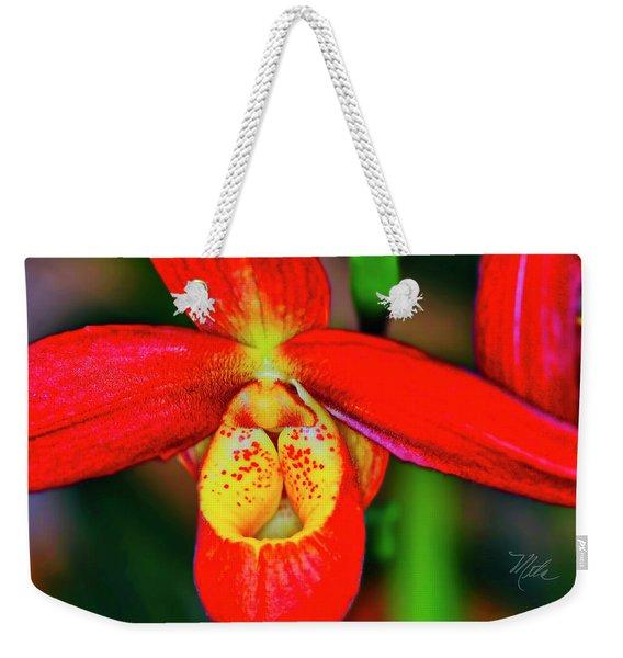 Orchid Study Seven Weekender Tote Bag
