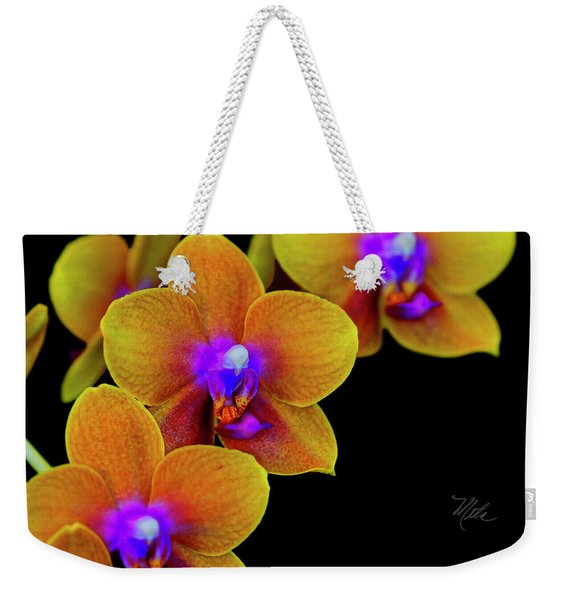 Orchid Study Ten Weekender Tote Bag