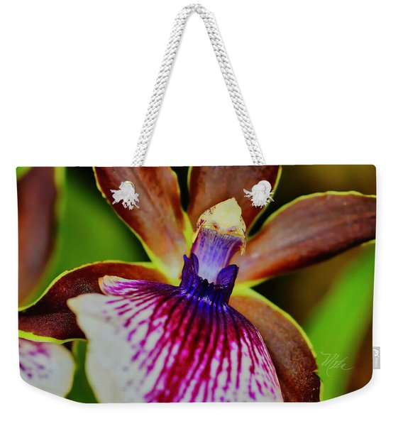 Orchid Study Two Weekender Tote Bag