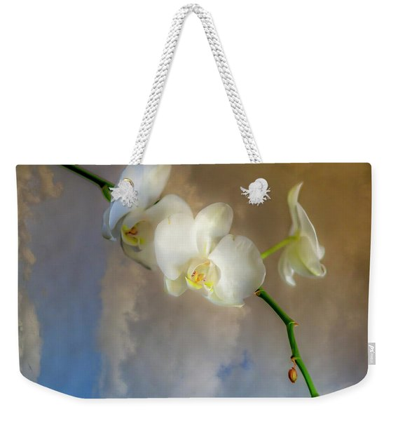 Orchid With Clouds Weekender Tote Bag