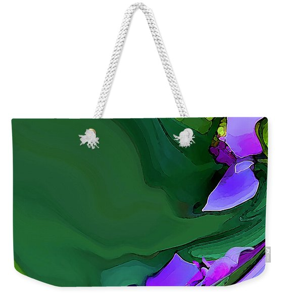 Orchids And Emeralds Weekender Tote Bag