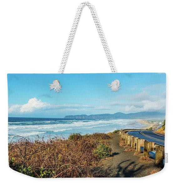 Oregon Surf Weekender Tote Bag