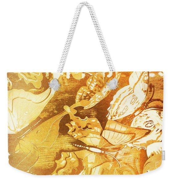 Ornamental Spring Weekender Tote Bag