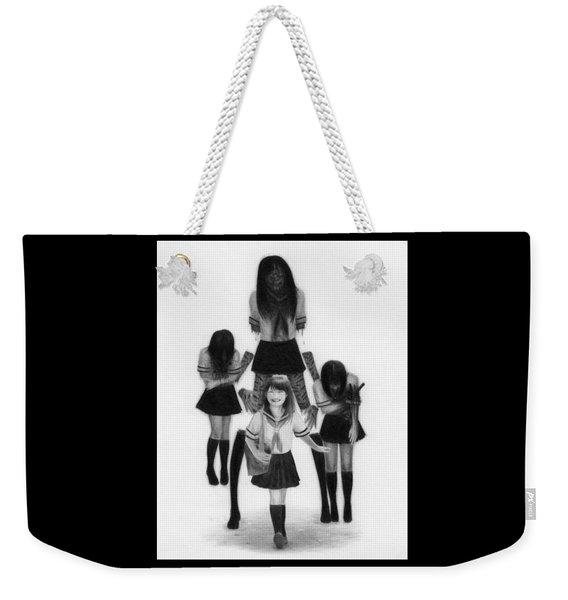 Our Last School Days - Artwork Weekender Tote Bag