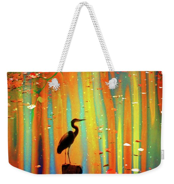 Our Silhouettes Sing With The Falling Leaves Weekender Tote Bag