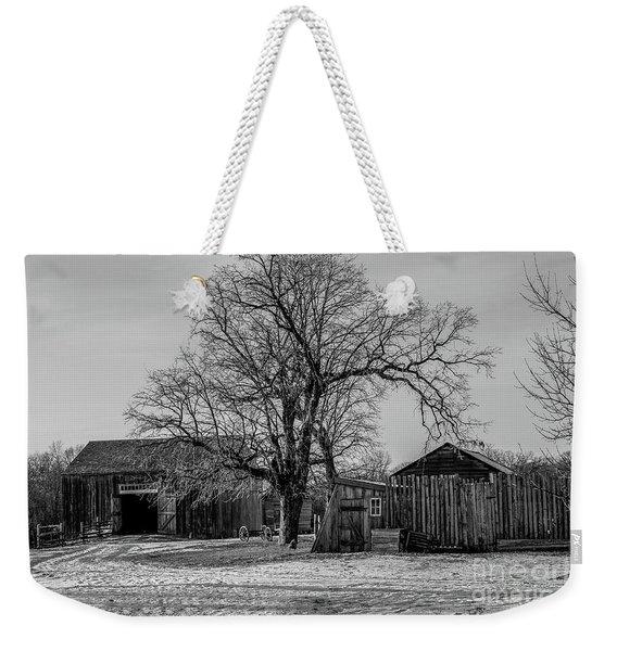 Out In The Barn Yard Weekender Tote Bag