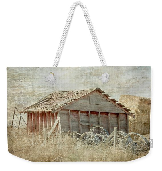 Out In The North 40 Weekender Tote Bag
