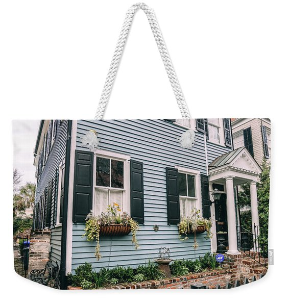 Out Of The Clear Blue Weekender Tote Bag