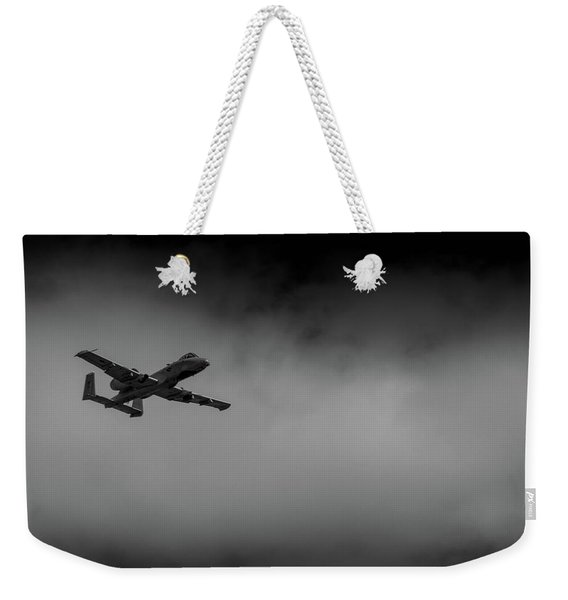 Out Of The Clouds - A-10c Thunderbolt Weekender Tote Bag