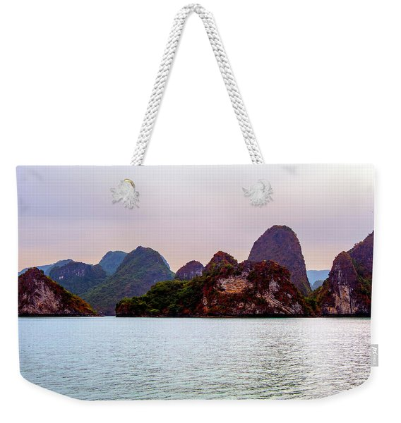 Out To Sea - Halong Bay, Vietnam Weekender Tote Bag
