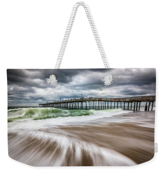 Outer Banks Nc North Carolina Beach Seascape Photography Obx Weekender Tote Bag