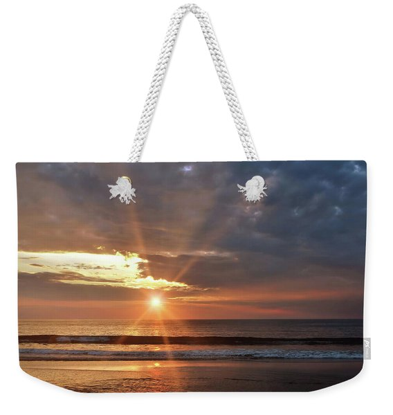 Weekender Tote Bag featuring the photograph Outerbanks Sunrise by JAMART Photography