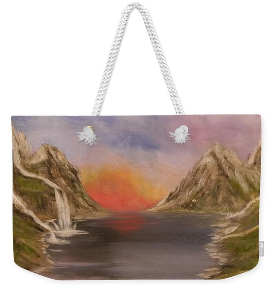 Outpouring Of Hope Weekender Tote Bag