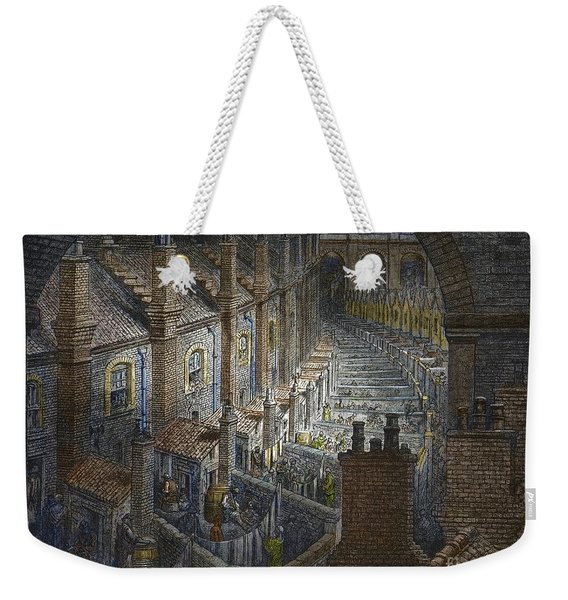 Over London By Rail From London, A Pilgrimage Weekender Tote Bag