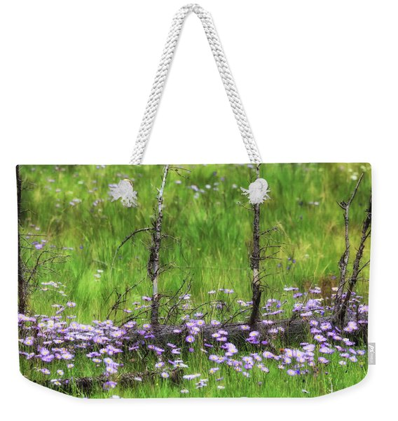 Overcome With Beauty Weekender Tote Bag