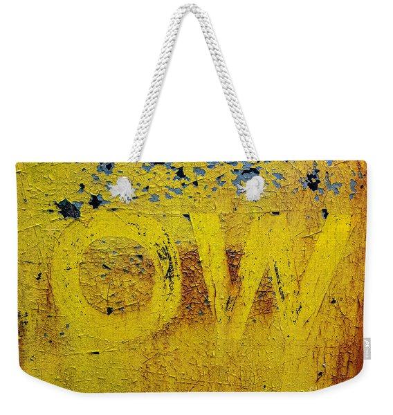 OW  Weekender Tote Bag