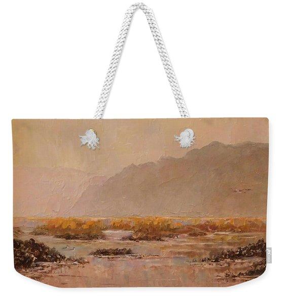 Oyster Beds Emerging Weekender Tote Bag