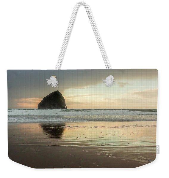 Pacific City Sea Stack Weekender Tote Bag