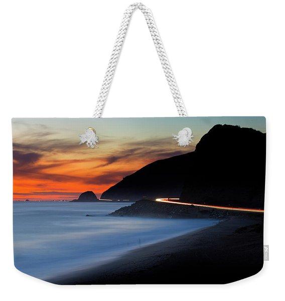 Pacific Coast Highway Weekender Tote Bag