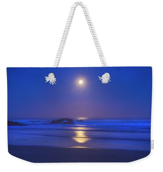 Pacific Moon Weekender Tote Bag