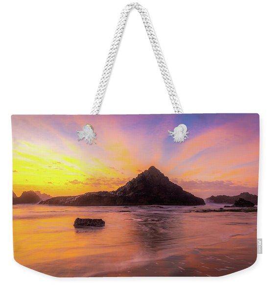 Pacific Northwest Paradise Weekender Tote Bag