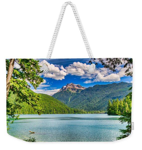 Packwood Lake Weekender Tote Bag