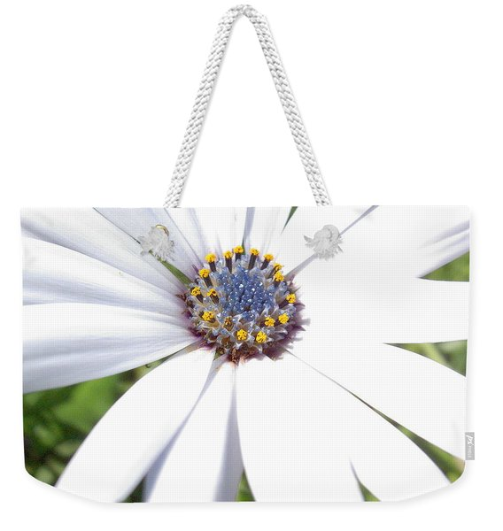 Page 13 From The Book, Peace In The Present Moment. Daisy Brilliance Weekender Tote Bag