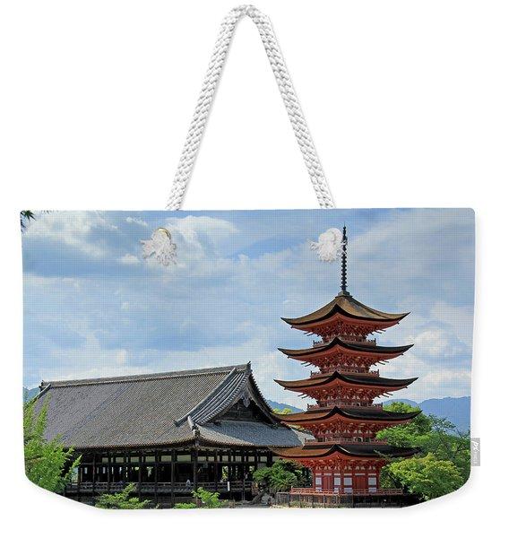 Pagoda - Mayijima, Japan Weekender Tote Bag