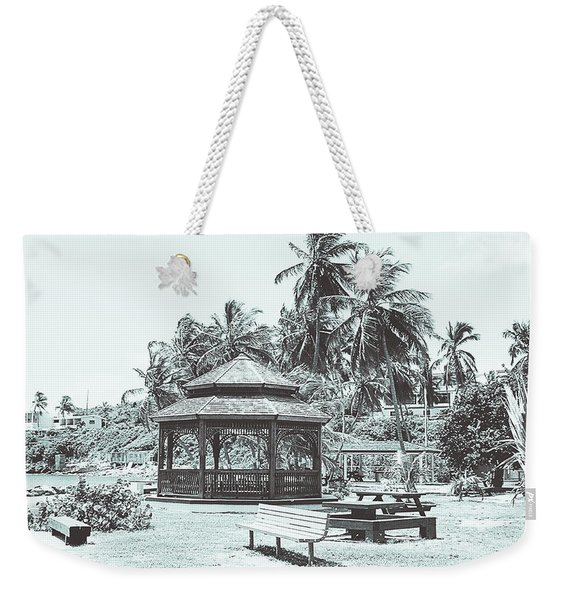 Pagoda On The Sea Weekender Tote Bag