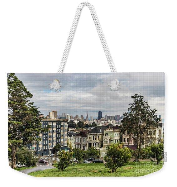 Painted Ladies Weekender Tote Bag