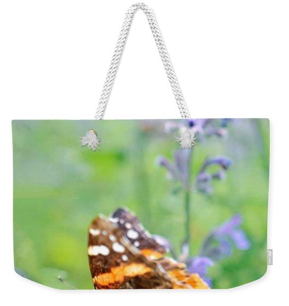 Painted Lady Weekender Tote Bag