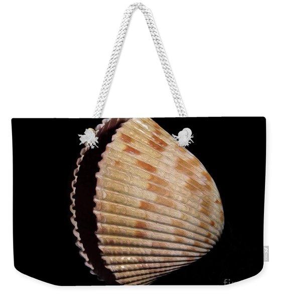 Painted Shell No. 1 Weekender Tote Bag