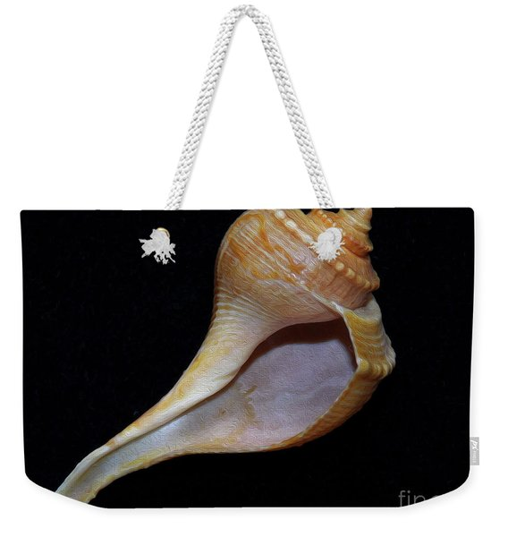 Painted Shell No. 2 Weekender Tote Bag