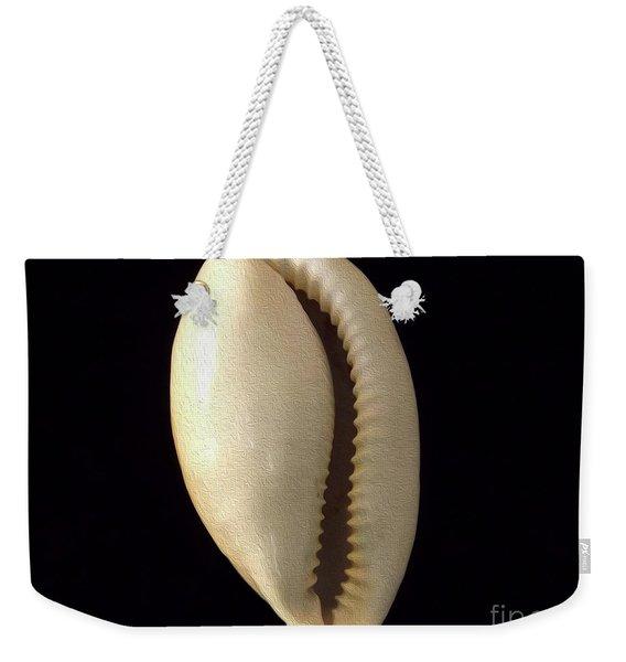 Painted Shell No. 4 Weekender Tote Bag
