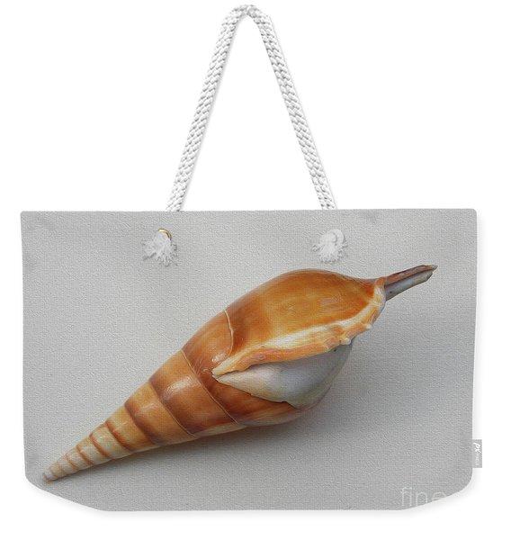 Painted Tipia Shell No 28 Weekender Tote Bag