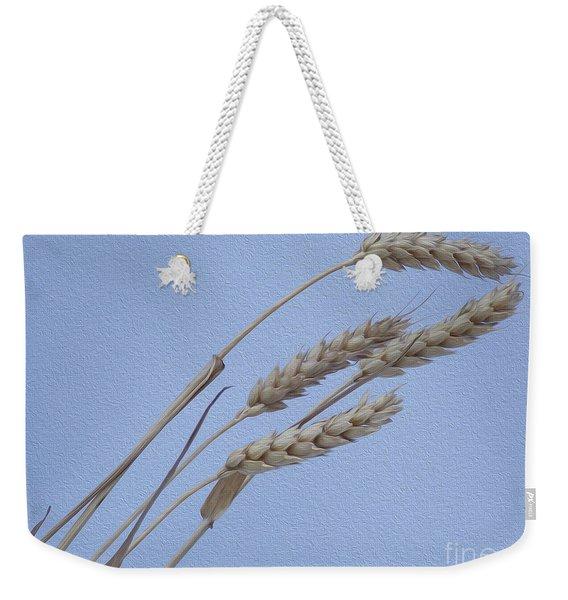 Painted Waves Of Grain Weekender Tote Bag