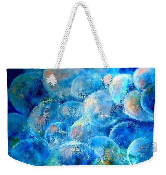 Painterly Bubbles Weekender Tote Bag