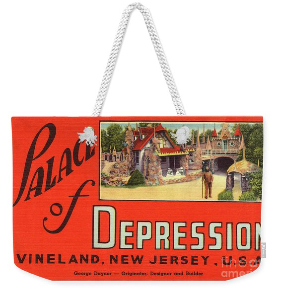 Palace Of Depression Weekender Tote Bag