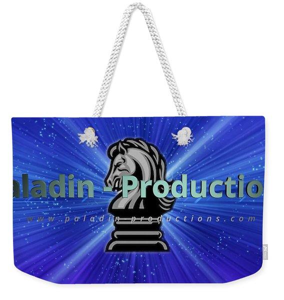 Paladin-productions.com Logo Weekender Tote Bag