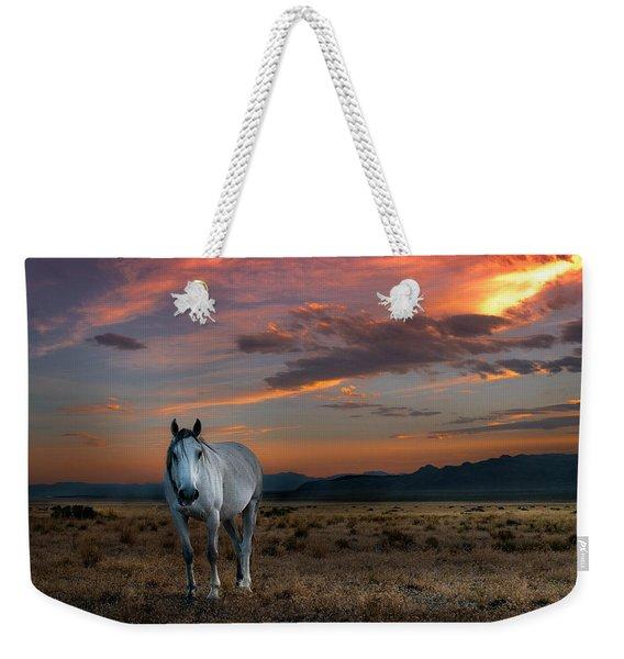 Pale Horse Weekender Tote Bag