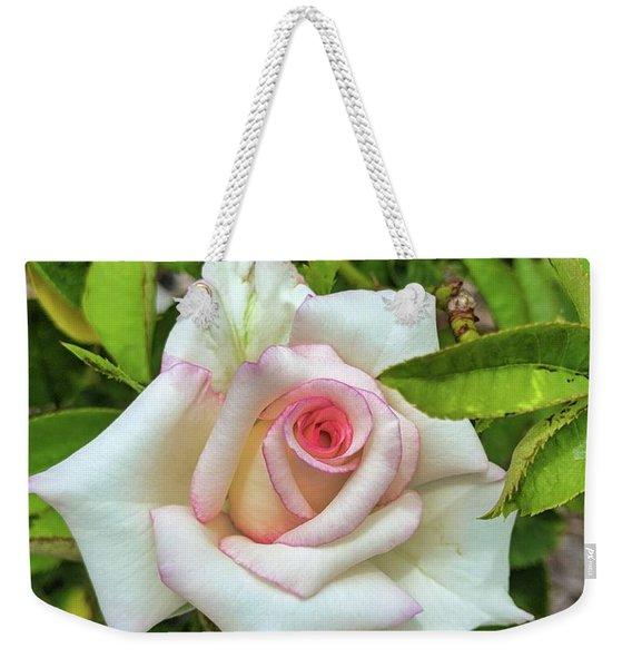 Pale Rose Weekender Tote Bag