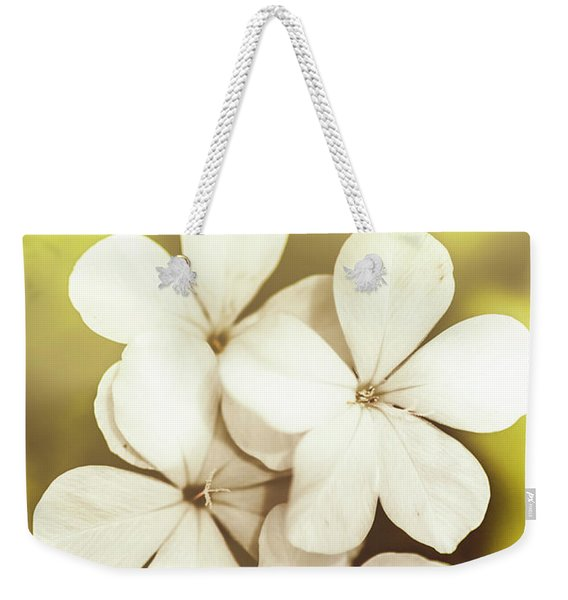 Pale Wildflowers Weekender Tote Bag