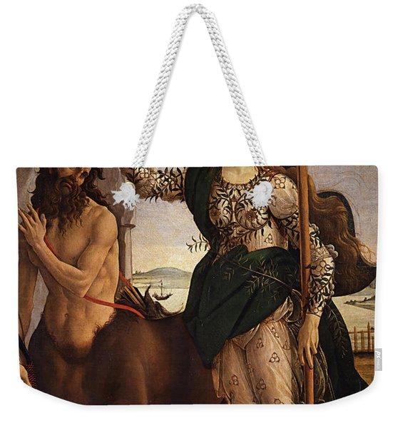 Pallas And Centaur  Weekender Tote Bag