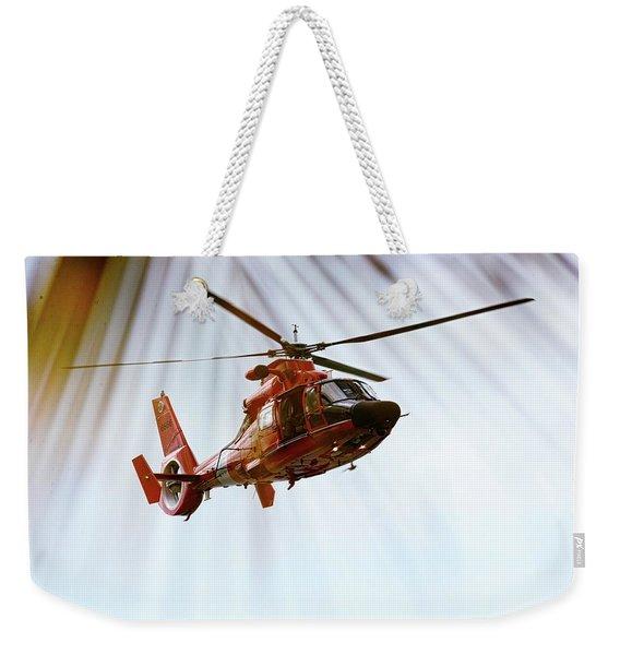 Palm Chopper Weekender Tote Bag