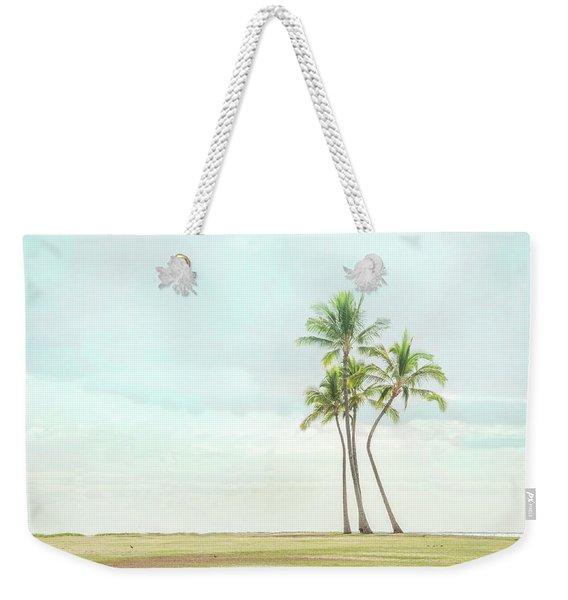 Palm Tree Cluster  Weekender Tote Bag