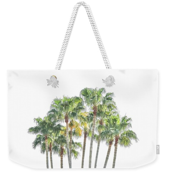 Palm Tree Grove Weekender Tote Bag