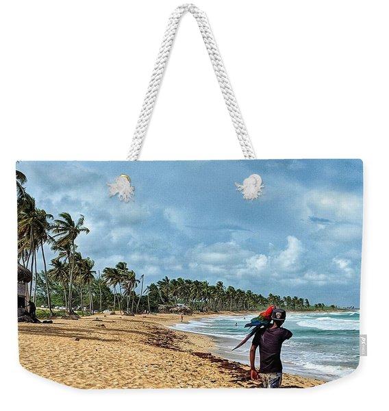 Palm Tree Paradise Weekender Tote Bag