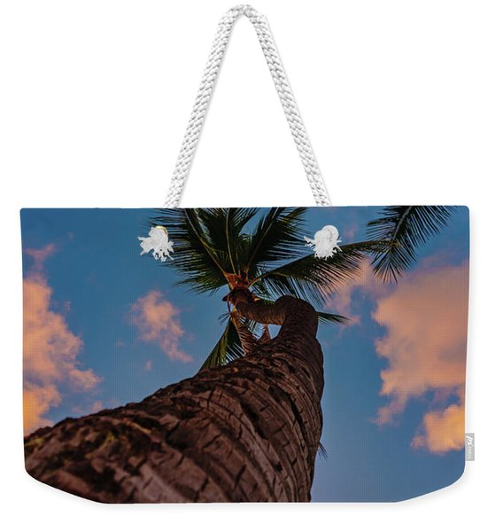Palm Upward Weekender Tote Bag