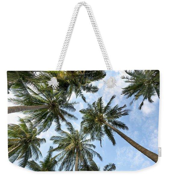 Palms  Beach Weekender Tote Bag